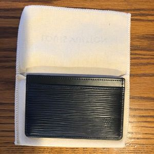 Louis Vuitton Epi Card Holder